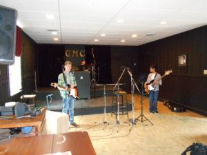 recording, guitar, bass, drums