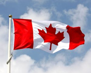 Canada flag anthem music