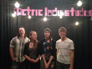 Electric Lady Studios drums guitar vocal