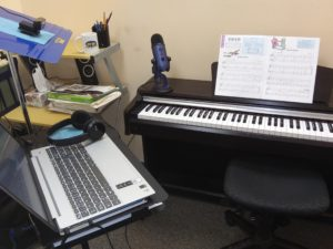 computer rental music lessons