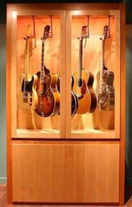 guitar violin humidity closet